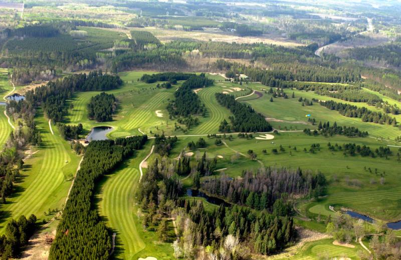 Golf course near Bear Paw Resort.