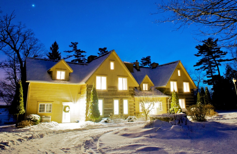 Winter at Eganridge Resort, Country Club & Spa.