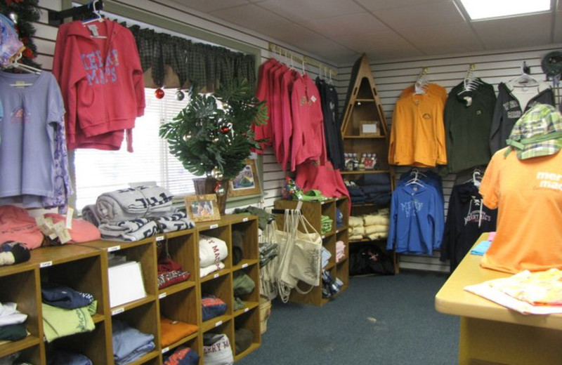Gift Shop at Merry Mac's Campground