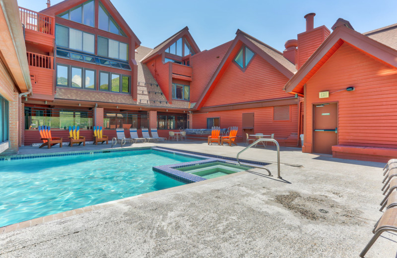 Rental pool at Park City Rental Properties.