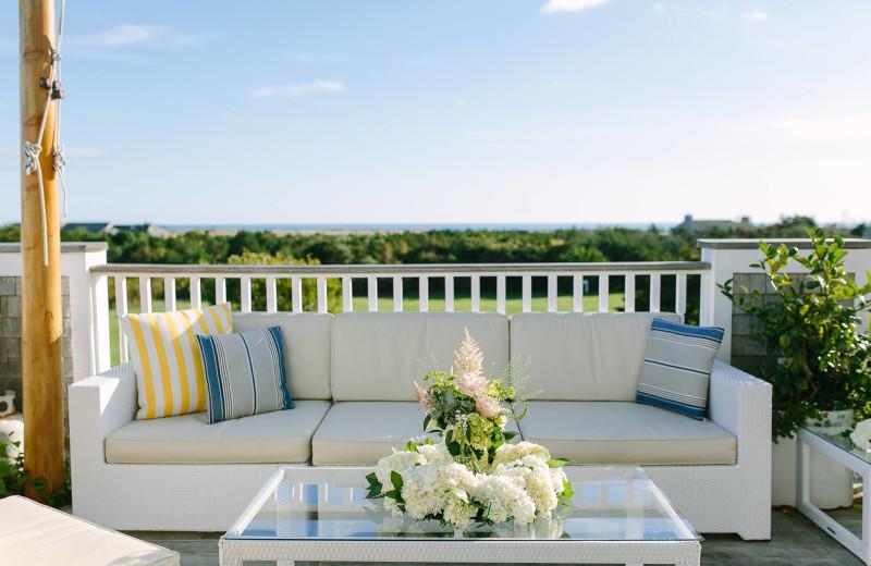 Balcony at Winnetu Oceanside Resort.