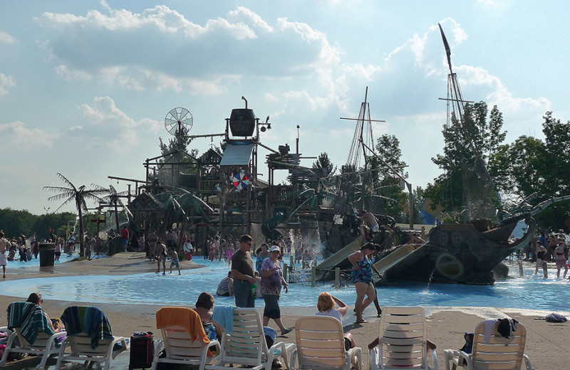 Hook's Lagoon at Darien Lake Resort.