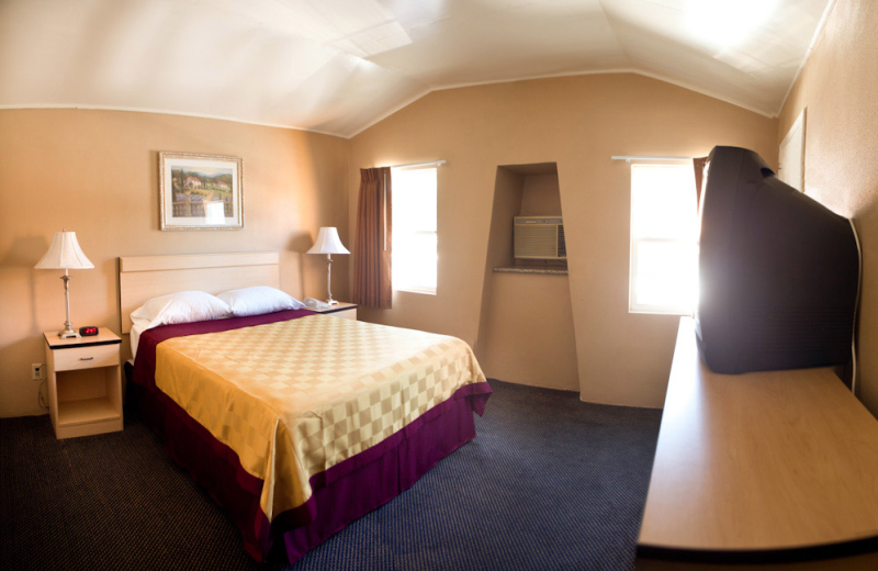 Guest room at Napa Discovery Inn.