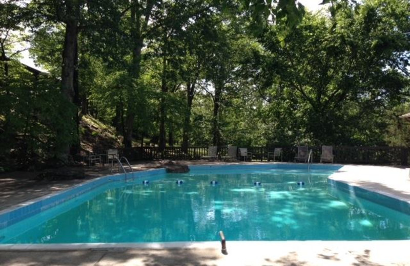 Swimming pool at Red Apple Inn and Country Club.