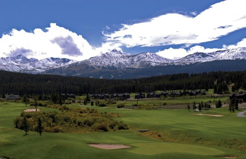 Breckenridge Golf Course near Grand Lodge on Peak 7.