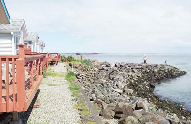 Exterior view of Harbor Resort.