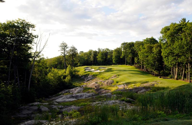 Golf course at Rocky Crest Golf Resort.