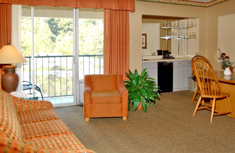 Living Room View at  Glenstone Lodge