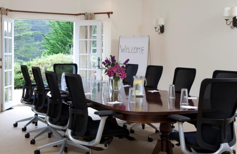 Meeting room at Seal Cove Inn.