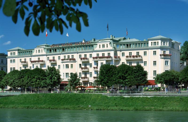 Exterior view of Hotel Sacher Salzburg.