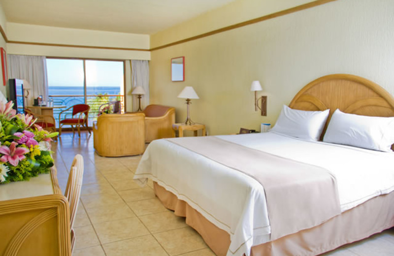 Guest room at San Carlos Plaza Hotel, Resort & Convention Center.