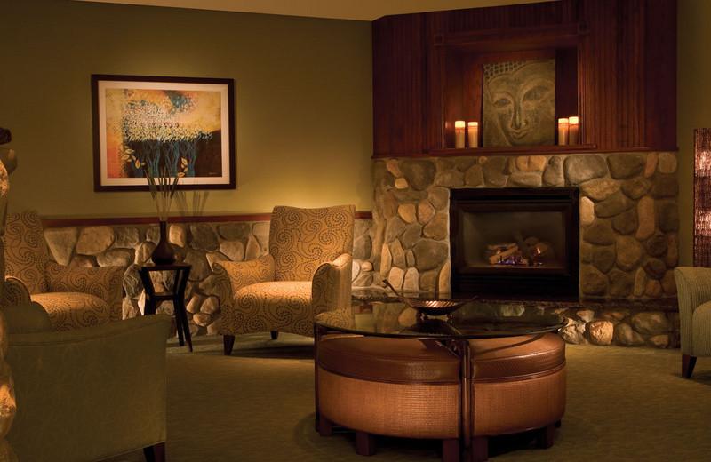 Spa lounge at Grand Traverse Resort.