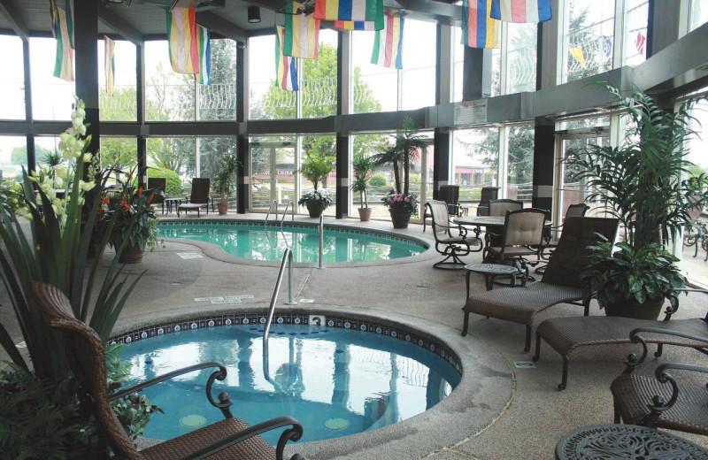 Indoor pool at Fulton Steamboat Inn.