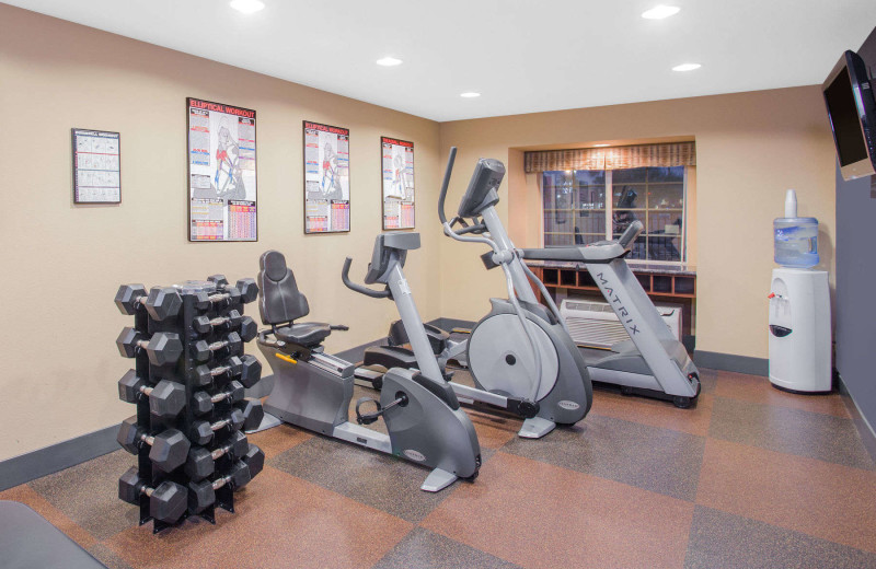 Fitness room at Microtel Inn & Suites Yuma.