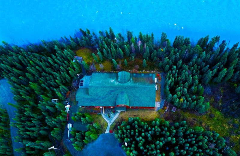 Aerial view of  Alaska Legends Adventure Resort.