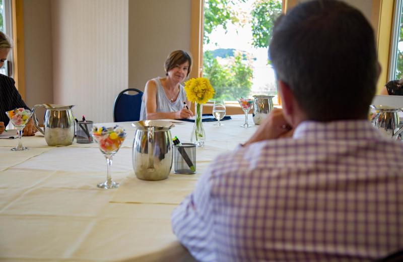 Meetings at Elmhirst's Resort.