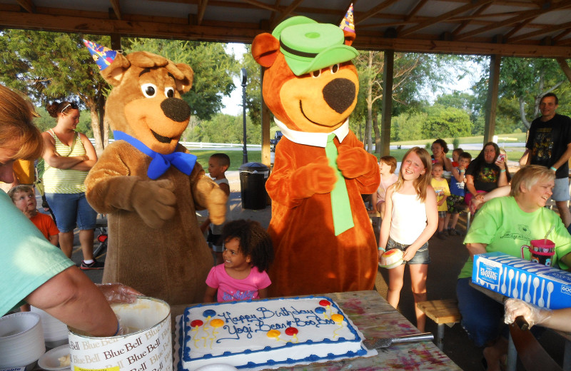 Birthdays at Jellystone Park at Lake Monroe.
