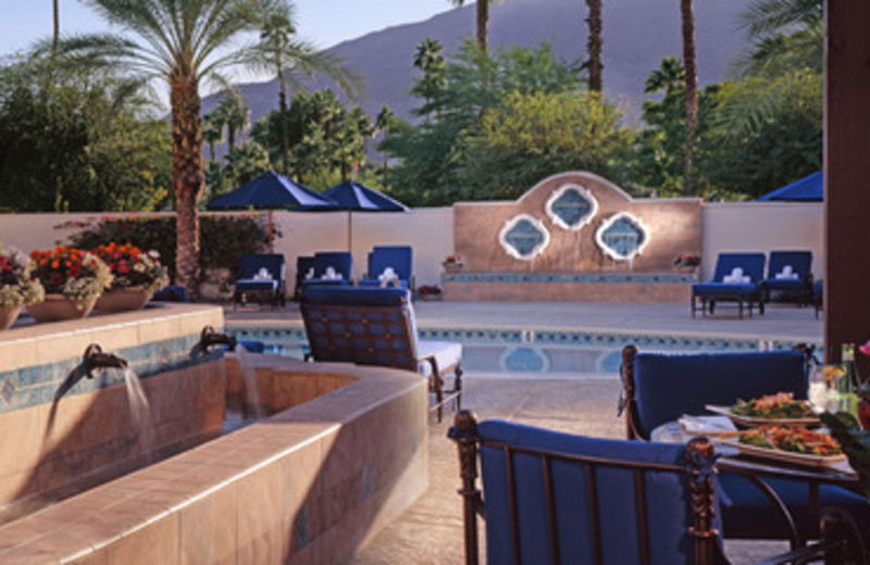 Tranquility and Spa Pool at Rancho Las Palmas Resort