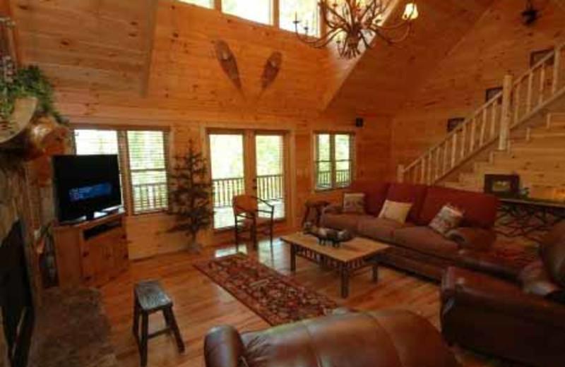 Interior View at JP Ridgeland Cabin Rentals