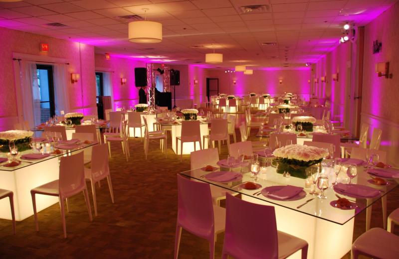 Wedding reception at Southampton Inn.