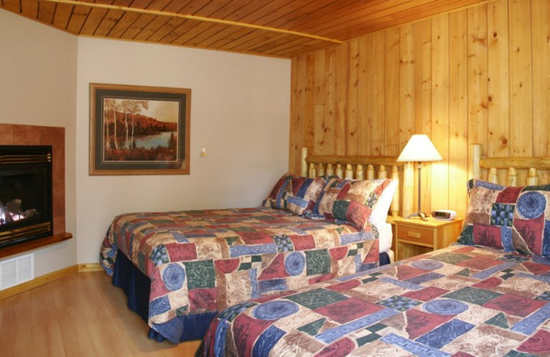 Cabin Rooms at Overlander Mountain Lodge