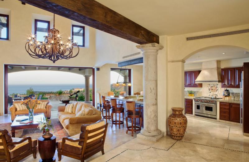 Rental interior at Luxury Villa Collections.