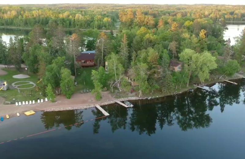 Ariel photo of Little Norway Resort