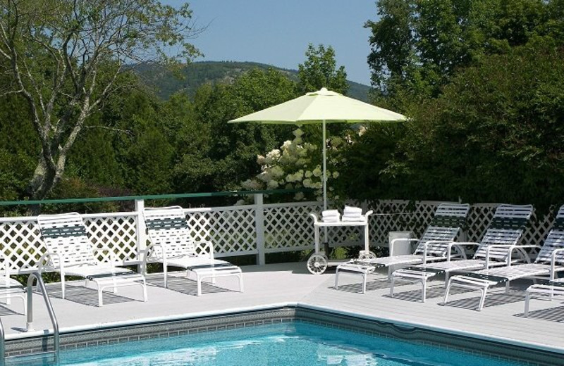 Outdoor pool at Cedar Crest Inn.