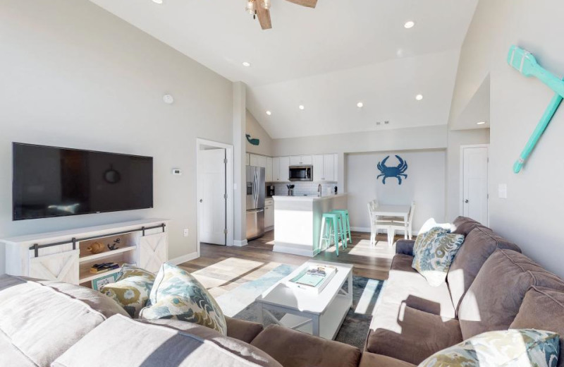 Rental interior at Vacasa Ocean City.