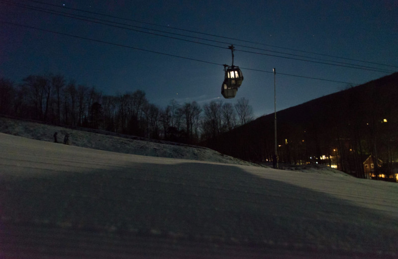Night time at The Mountain Club on Loon.