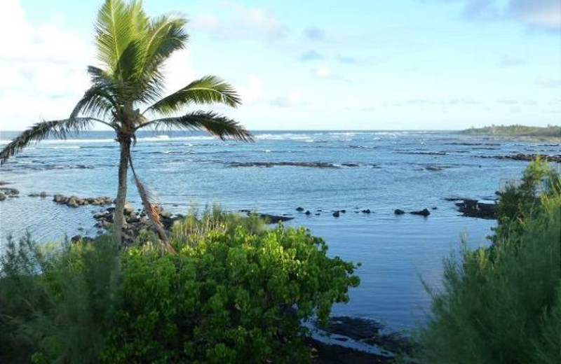 View from vacation rental at Big Island Vacation Rentals.
