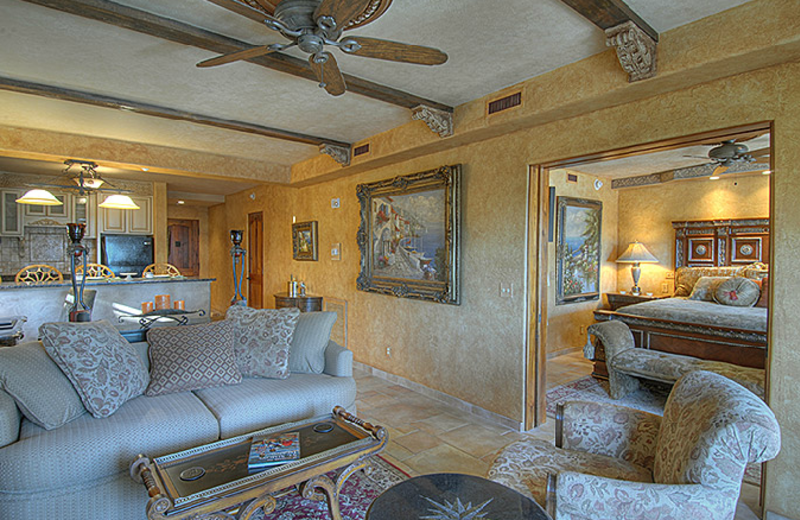 Living Room at Ocean Lodge