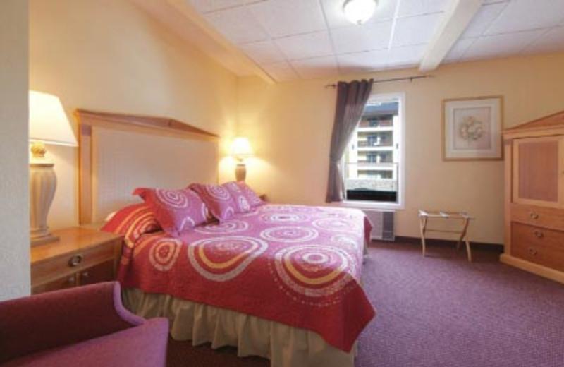 Guest Bedroom at Adventure Inn