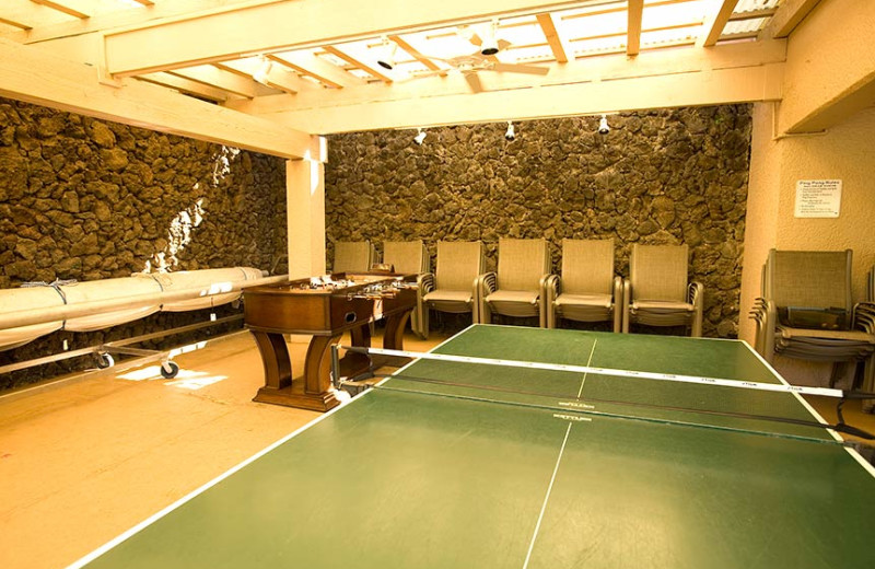 Game room at Kamole Sands.