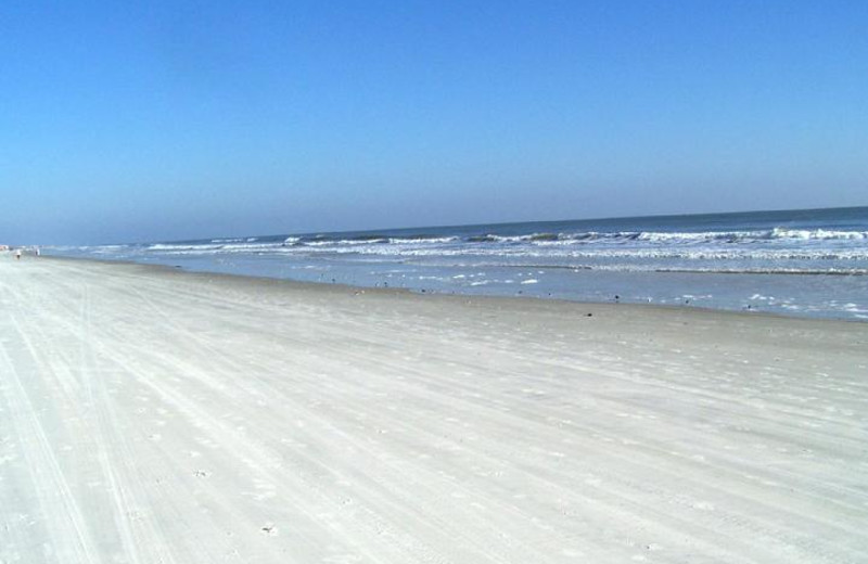 Beach at St. Augustine Beach Vacation Rentals.