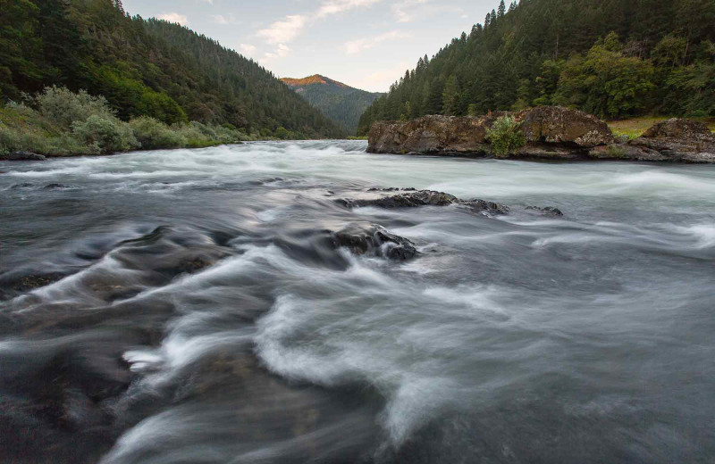 River at Morrison's Rogue River Lodge.