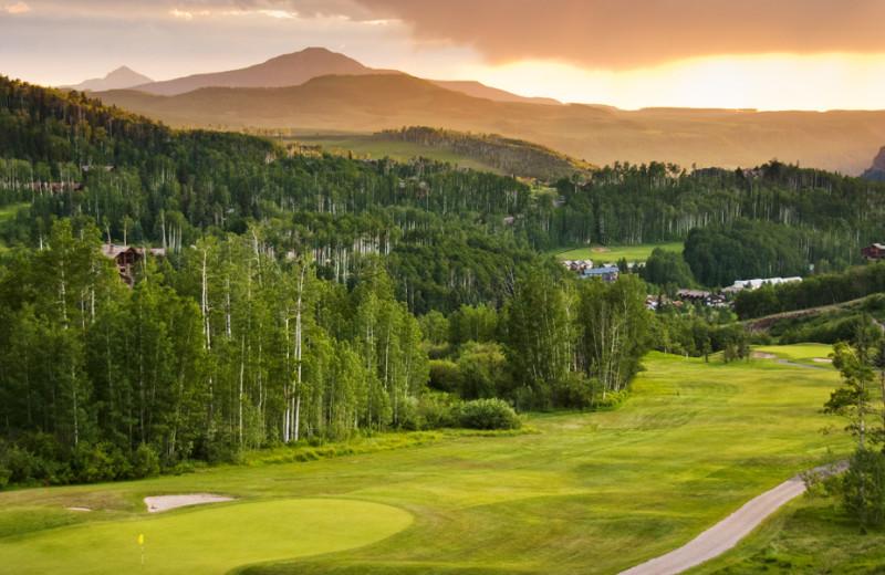 Telluride Golf Course near SilverStar Luxury Properties.
