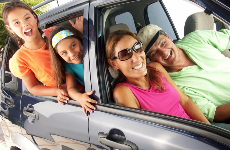 Family at Sandbridge Blue Vacation Rentals.