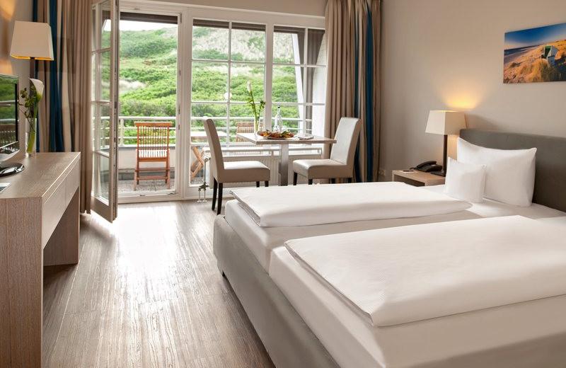 Guest room at Dorint Strandhotel Westerland/Sylt.