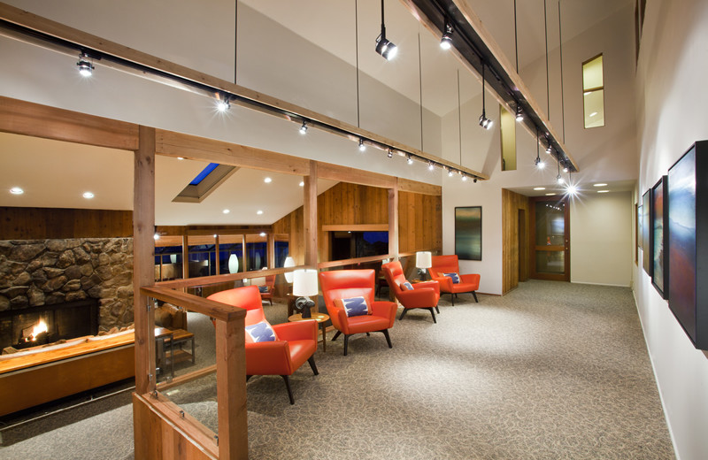 Interior view of Sea Ranch Lodge.