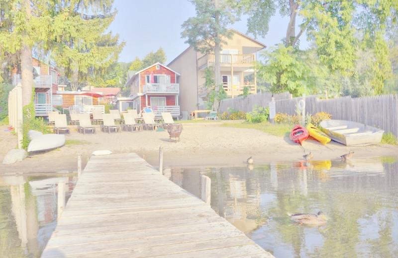 The Lake at OSullivan's Motel