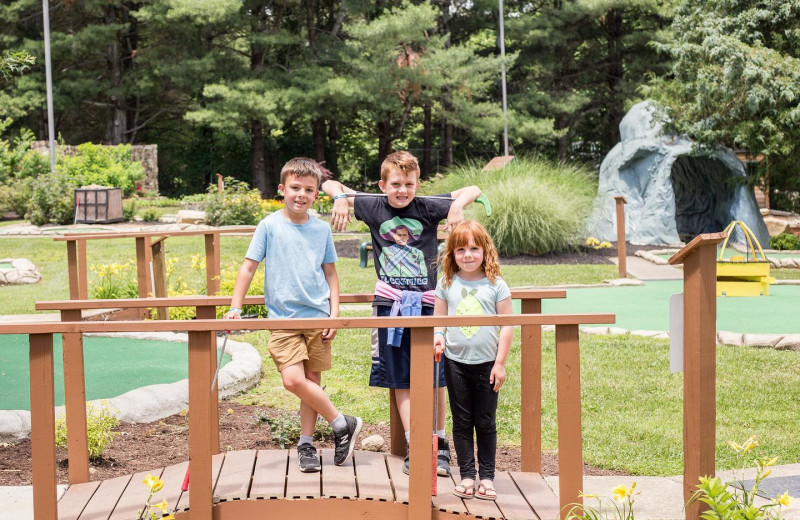 Mini golf at Yogi Bear's Jellystone Park™ in Luray, VA.