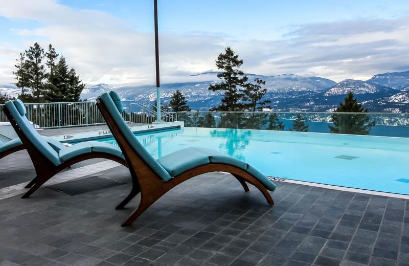 Outdoor pool at Sparkling Hill Resort.