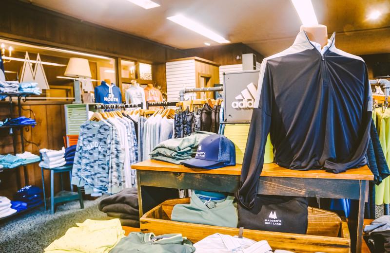 Shop at Madden's on Gull Lake.