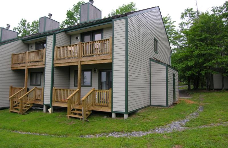 Vacation rental exterior at Timberline Herzwoods and Northwoods Resort.