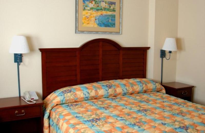 King Bed at Holiday Sands Resort