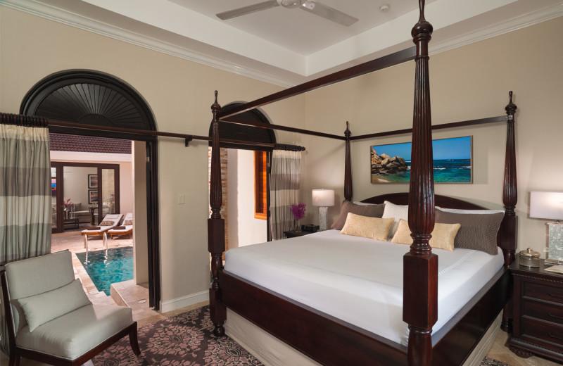Guest room at Sandals Grande Ocho Rios Beach & Villa Resort.