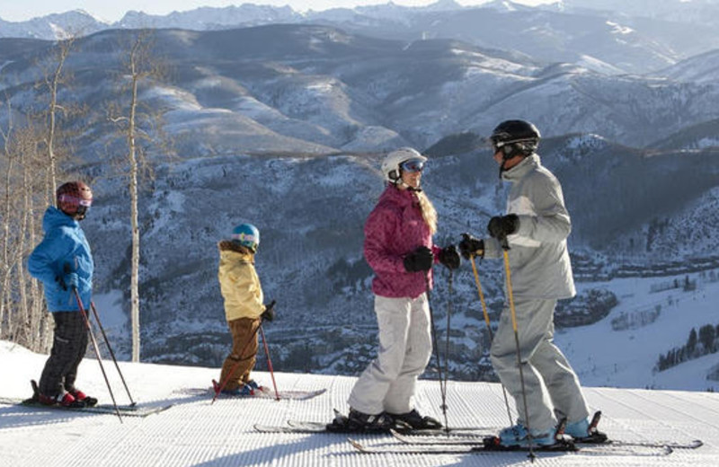Skiing at The Charter at Beaver Creek.