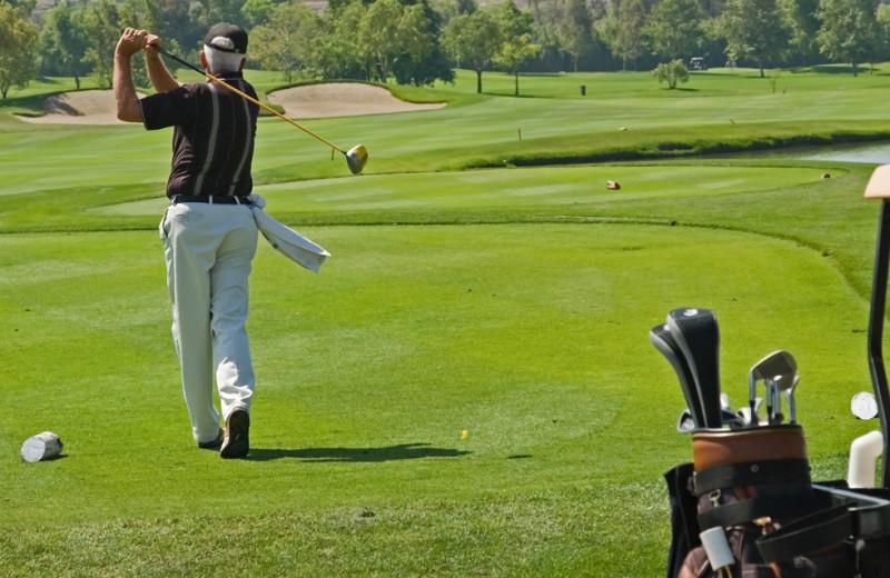 Golf course near Heidel House Resort.