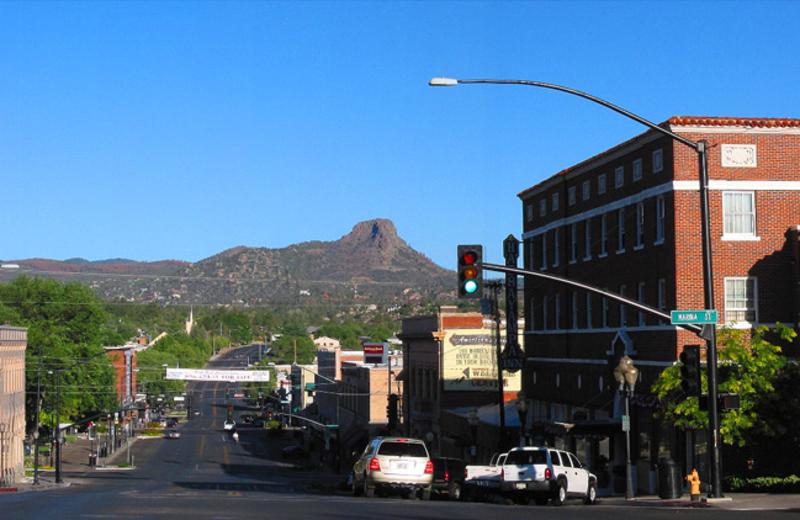 Downtown Prescott, Arizona near Hassayampa Inn.